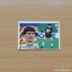 Cromos de Fútbol: 1 SEMPERE VALENCIA CF EDICIONES ESTE 1988 1989 LIGA 88 89 SIN PEGAR NUNCA PEGADO. Lote 194750093