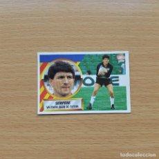 Cromos de Fútbol: 1 # SEMPERE VALENCIA CF EDICIONES ESTE 1988 1989 LIGA 88 89 SIN PEGAR NUNCA PEGADO. Lote 194750133