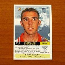 Cromos de Fútbol: SEVILLA - Nº 535, MARCHENA - ÚLTIMA HORA - LAS FICHAS DE LIGA MUNDICROMO 1999-2000, 99-00. Lote 194759940