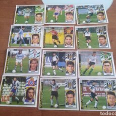 Cromos de Fútbol: LOTE DE 12 COLOCAS EDI ESTE 97-98 RECUPERADOS DEL ÁLBUM VER FOTOS. Lote 194759953