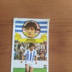 Cartes à collectionner de Football: BAKERO REAL SOCIEDAD 85 86 ESTE RECUPERADO DEL ÁLBUM VER FOTOS. Lote 194766591
