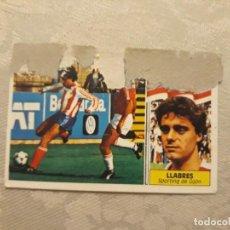 Cromos de Fútbol: LLABRES DEL SPORTING 1986 1987 86 87 EDICIONES ESTE. Lote 194859953