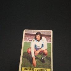 Cromos de Fútbol: EDICIONES ESTE FICHAJE 15 OVEJERO 74/75 1974/1975 SIN PEGAR. Lote 194865083