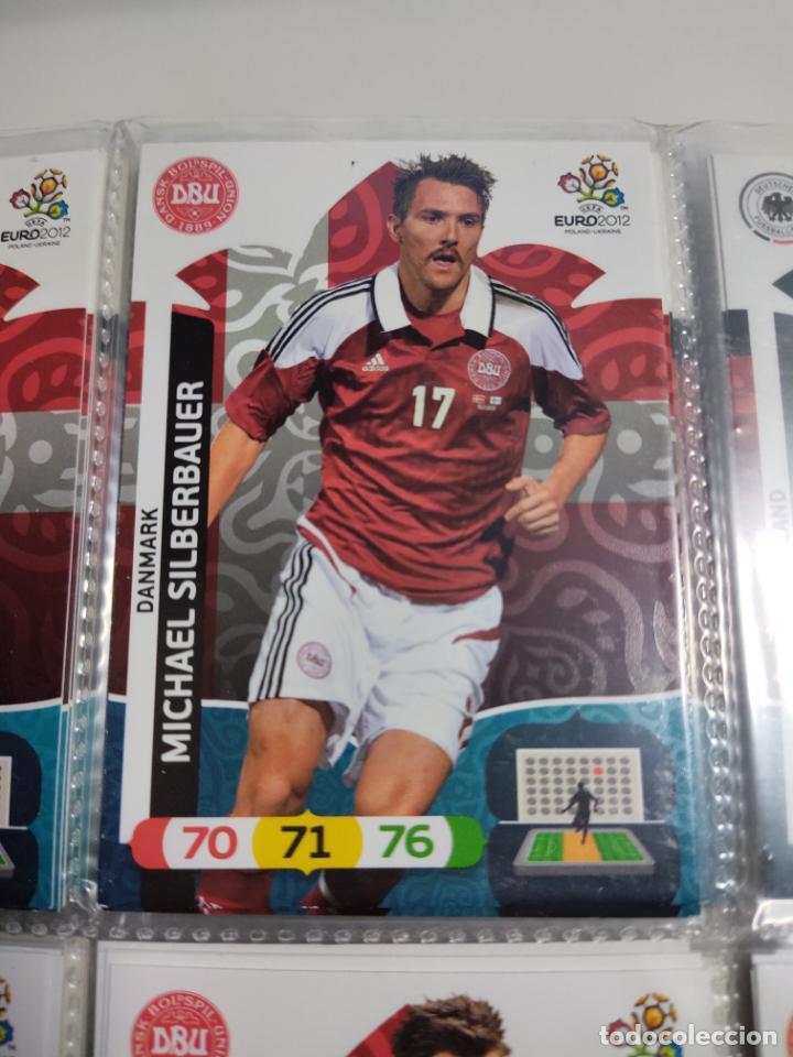 22 MICHAEL SILBERBAUER DANMARK DINAMARCA EURO 2012 ADRENALYN NUEVO (Coleccionismo Deportivo - Álbumes y Cromos de Deportes - Cromos de Fútbol)