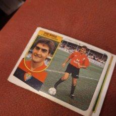 Cromos de Fútbol: ESTE 91 92 1991 1992 DESPEGADO OSASUNA JOSE MARÍA. Lote 194882392