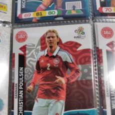 Cromos de Fútbol: 18 CHRISTIAN POULSEN DANMARK DINAMARCA EURO 2012 ADRENALYN NUEVO. Lote 194882468