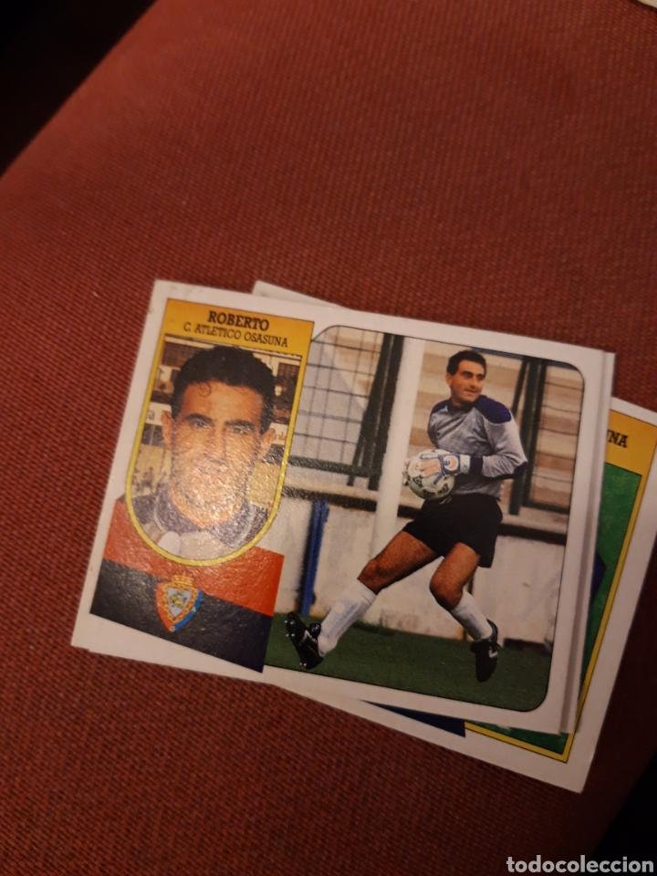 ESTE 91 92 1991 1992 DESPEGADO OSASUNA ROBERTO (Coleccionismo Deportivo - Álbumes y Cromos de Deportes - Cromos de Fútbol)