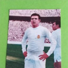 Cromos de Fútbol: REAL MADRID 9 GROSSO RUIZ ROMERO 1969 1970 69 70 RECUPERADO. Lote 194888668