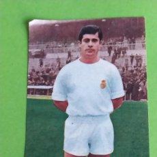 Cromos de Fútbol: REAL MADRID 13 MANOLIN BUENO RUIZ ROMERO 1969 1970 69 70 RECUPERADO. Lote 194888755
