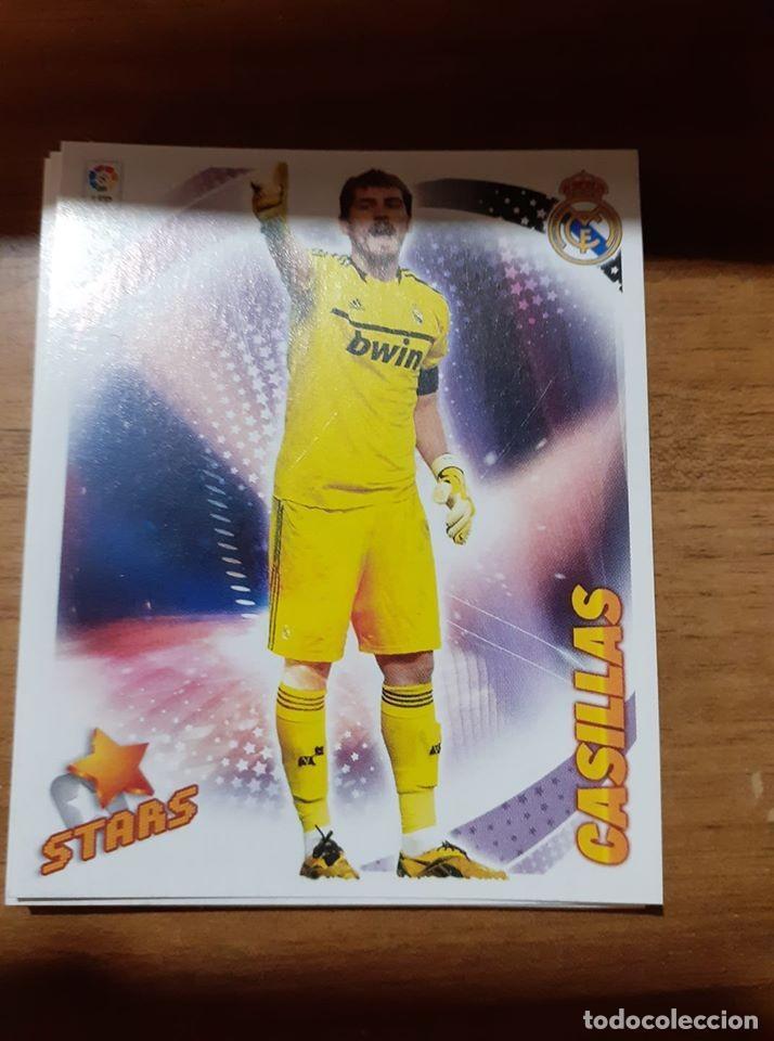 CROMO COLECCIONES ESTE 2012/13,EDITORIAL PANINI, JUGADOR CASILLAS (STARS) (Coleccionismo Deportivo - Álbumes y Cromos de Deportes - Cromos de Fútbol)