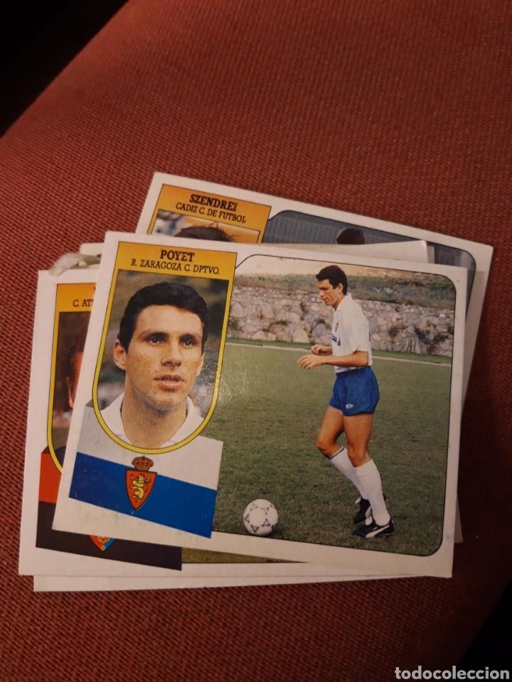 ESTE 91 92 1991 1992 DESPEGADO ZARAGOZA POYET (Coleccionismo Deportivo - Álbumes y Cromos de Deportes - Cromos de Fútbol)