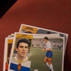 Cromos de Fútbol: ESTE 91 92 1991 1992 DESPEGADO ZARAGOZA POYET. Lote 194902027