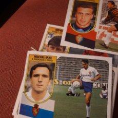 Cromos de Fútbol: ESTE 91 92 1991 1992 DESPEGADO ZARAGOZA PASCUAL SANZ. Lote 194902040