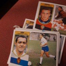Cromos de Fútbol: ESTE 91 92 1991 1992 DESPEGADO ZARAGOZA PEÑA. Lote 194902178