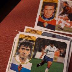 Cromos de Fútbol: ESTE 91 92 1991 1992 DESPEGADO ZARAGOZA MATEUT. Lote 194902731