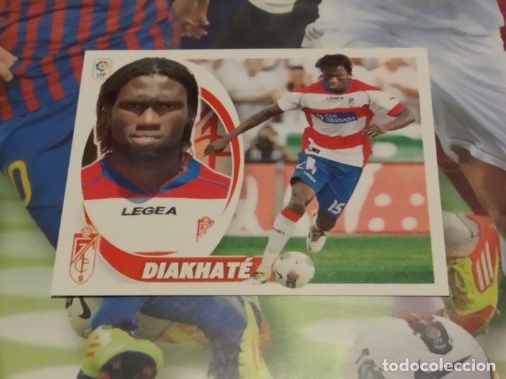 6B DIAKHATE. GRANADA. LIGA ESTE 2012 2013 (Coleccionismo Deportivo - Álbumes y Cromos de Deportes - Cromos de Fútbol)