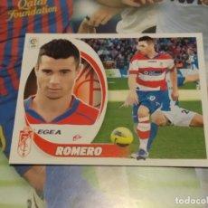 Cromos de Fútbol: 12B ROMERO. GRANADA. LIGA ESTE 2012 2013. Lote 194904827