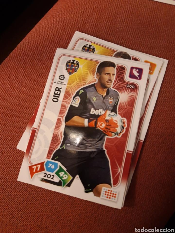 ADRENALYN 2019 2020 19 20 LEVANTE OIER 200 (Coleccionismo Deportivo - Álbumes y Cromos de Deportes - Cromos de Fútbol)