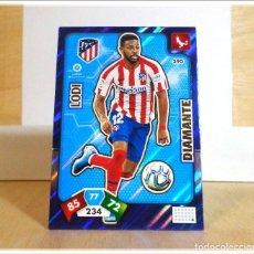 Cromos de Fútbol: ADRENALYN XL 2019 2020 19 20 PANINI LODI Nº 390 DIAMANTE ATLÉTICO MADRID CROMO LIGA ALBUM FÚTBOL. Lote 194905905