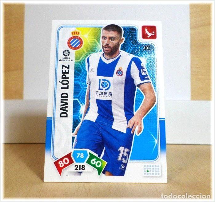 ADRENALYN XL 2019 2020 19 20 PANINI DAVID LOPEZ Nº 131 ESPANYOL CROMO LIGA ALBUM FÚTBOL (Coleccionismo Deportivo - Álbumes y Cromos de Deportes - Cromos de Fútbol)