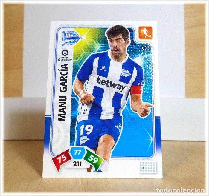 ADRENALYN XL 2019 2020 19 20 PANINI MANU GARCÍA Nº 8 ALAVÉS CROMO LIGA ALBUM FÚTBOL (Coleccionismo Deportivo - Álbumes y Cromos de Deportes - Cromos de Fútbol)