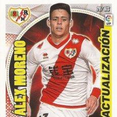 Cromos de Fútbol: 2014-2015 - 287 BIS ALEX MORENO - RAYO VALLECANO - PANINI ADRENALYN XL - 4. Lote 194925967