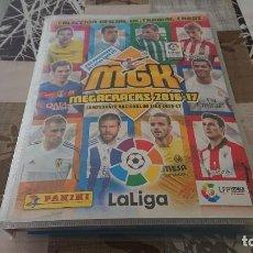Cromos de Fútbol: MEGACRACKS 16/17 INCOMPLETO CON 425 CARDS DIFERENTES NUEVOS . Lote 194926196