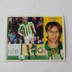 Cromos de Fútbol: BETIS EDICIONES ESTE 2002-2003 FICHAJE Nº7 ALFONSO 02-03 NUNCA PEGADO 02/03. Lote 194940176