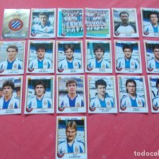Cromos de Fútbol: FUTBOL 88 19 CROMOS ESPAÑOL TODOS DIFERENTES RECORTADOS. Lote 194966661