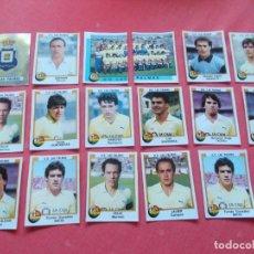 Cromos de Fútbol: FUTBOL 88 17 CROMOS LAS PALMAS TODOS DIFERENTES RECORTADOS. Lote 194966743