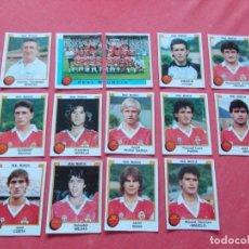 Cromos de Fútbol: FUTBOL 88 14 CROMOS MURCIA TODOS DIFERENTES RECORTADOS. Lote 194967051