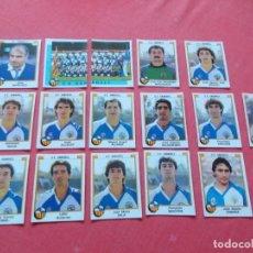 Cromos de Fútbol: FUTBOL 88 16 CROMOS SABADELL TODOS DIFERENTES RECORTADOS. Lote 194967175