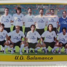 Cromos de Fútbol: 1090 ALINEACIÓN / ÍNDICE U.D. SALAMANCA - 2ª DIVISIÓN - MUNDICROMO 2007. Lote 194972885