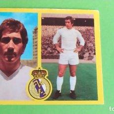 Cromos de Fútbol: REAL MADRID VELAZQUEZ ESTE 1972 1973 72 73 RECUPERADO. Lote 194977386