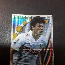 Cromos de Fútbol: 1 CROMO FICHAS MUNCDIROMO TEMPORADA 10-11 ( 2010-2011 ) SEVILLA C.F - 107 - PEROTTI SUPER STAR CUADR. Lote 194981880