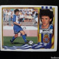 Cromos de Fútbol: BRNOVIC RCD ESPAÑOL. ESTE 95-96 1995-1996. SIN PEGAR. VER FOTOS DE FRONTAL Y TRASERA. Lote 194985410