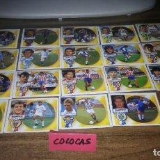 Cromos de Fútbol: ED ESTE 1994 1995 94 95 - LOTE DE 290 CROMOS DESPEGADOS Y DIFERENTES (BÁSICOS, FICHAJES, COLOCAS). Lote 194993863