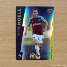 Cromos de Fútbol: 98 MARK NOBLE WEST HAM UNITED PLATINUM TOPPS PREMIER LEAGUE 2017 2018 17 18 NUEVO. Lote 195010961