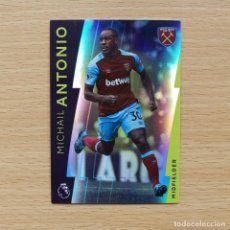 Cromos de Fútbol: 99 MICHAIL ANTONIO WEST HAM UNITED PLATINUM TOPPS PREMIER LEAGUE 2017 2018 17 18 NUEVO. Lote 195010997