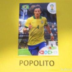Cromos de Futebol: PANINI ADRENALYN XL FIFA WORLD CUP BRASIL 2014 DAVID LUIZ. Lote 195023213