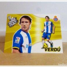 Cromos de Fútbol: MEGACRACKS 2012 2013 12 13 PANINI VERDU 428 MEGA MVP ESPANYOL CROMO LIGA ALBUM FÚTBOL MGK. Lote 195031076