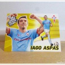 Cromos de Fútbol: MEGACRACKS 2012 2013 12 13 PANINI IAGO ASPAS 426 MEGA MVP CELTA VIGO CROMO LIGA ALBUM FÚTBOL MGK. Lote 195031151
