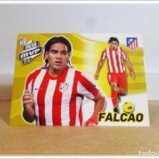 Cromos de Fútbol: MEGACRACKS 2012 2013 12 13 PANINI FALCAO 423 MEGA MVP ATLÉTICO MADRID CROMO LIGA ALBUM FÚTBOL MGK. Lote 195031215