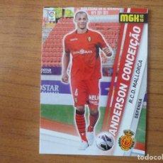 Cromos de Fútbol: MEGACRACKS 2012 2013 PANINI Nº 485 ANDERSON CONCEIÇAO (MALLORCA) FICHAJE - MGK FUTBOL CROMO 12 13 . Lote 195031223