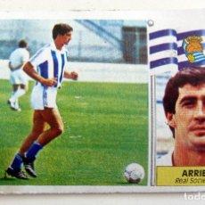 Cromos de Fútbol: 86/87 EDICIONES ESTE NUNCA PEGADO FICHAJE 40 ARRIEN REAL SOCIEDAD 1986 1987. Lote 195036381