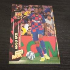 Cromos de Fútbol: -MEGACRACKS 19-20 : 72 BIS ANSU FATI ( BARCELONA ). Lote 195058251