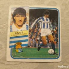 Cromos de Fútbol: GAJATE REAL SOCIEDAD NUNCA PEGADO ED ESTE LIGA 89 90 1989-90. Lote 195060142