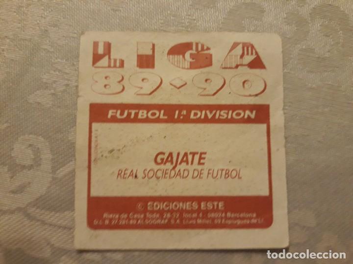 Cromos de Fútbol: GAJATE REAL SOCIEDAD NUNCA PEGADO ED ESTE LIGA 89 90 1989-90 - Foto 2 - 195060142