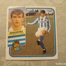 Cromos de Fútbol: BENGOECHEA REAL SOCIEDAD NUNCA PEGADO ED ESTE LIGA 89 90 1989-90. Lote 195060151