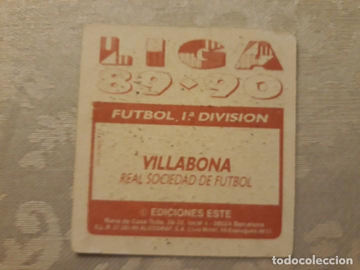 Cromos de Fútbol: VILLABONA REAL SOCIEDAD NUNCA PEGADO ED ESTE LIGA 89 90 1989-90 - Foto 2 - 195060166